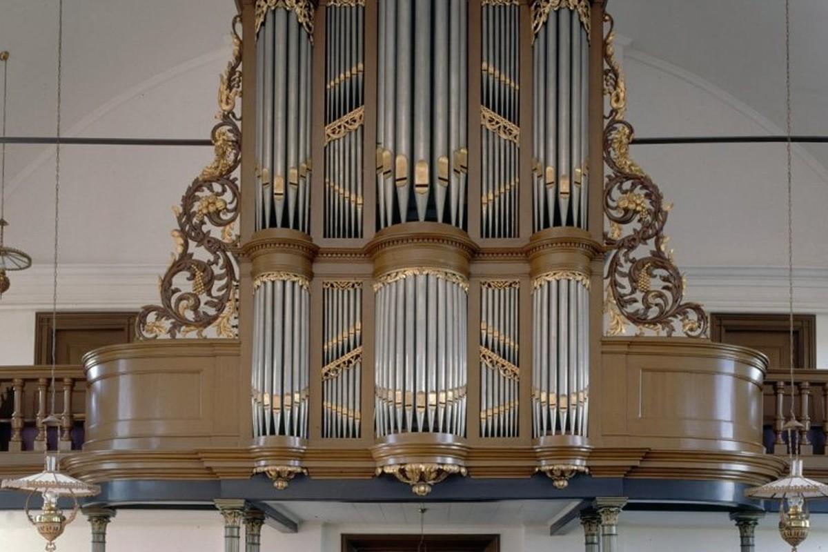 Het orgel  van Willem van Gruisen uit 1838